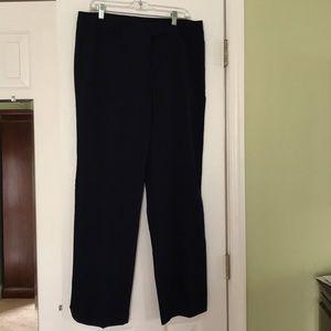 Rafaela Curvy Navy Pants,Sz-12,Never Worn